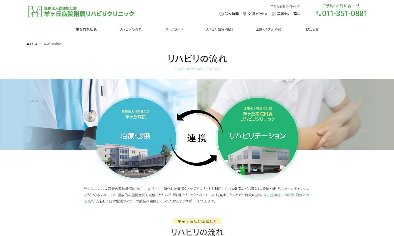 医療法人社団悠仁会 羊ヶ丘病院附属リハビリクリニック